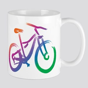 Vivid Mountain Bike Mug Mugs