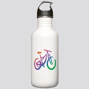 Vivid Mountain Bike Stainless Water Bottle 1.0L