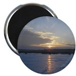 "Winter Sunrise 0002 2.25"" Magnet (10 pack)"