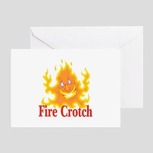 Fire Crotch Greeting Card