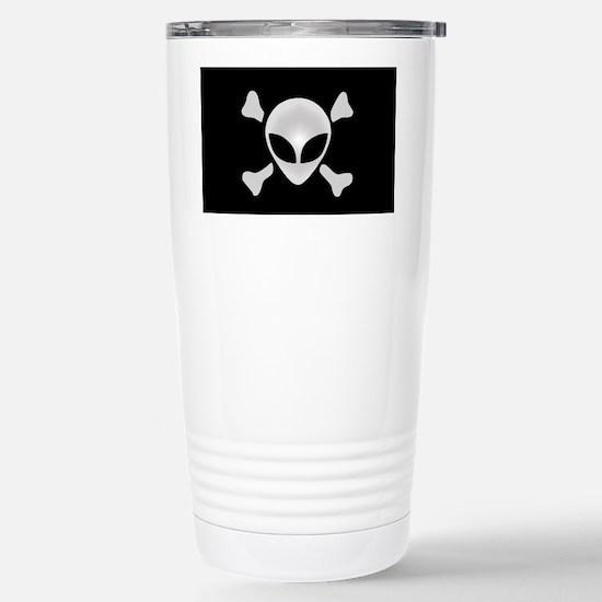 Alien Pirate Stainless Steel Travel Mug