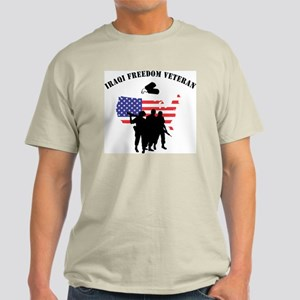 Iraqi Freedom Veteran Ash Grey T-Shirt