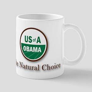 Obama, The Natural Choice Mug
