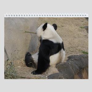 Pandas 004 Wall Calendar