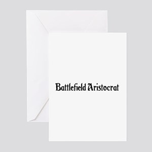 Battlefield Aristocrat Greeting Cards (Pk of 20)