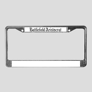 Battlefield Aristocrat License Plate Frame
