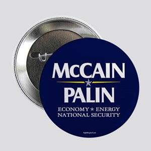 "McCain Palin National Security 2.25"" Button (10 pa"