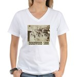 Deadwood Celebration Women's V-Neck T-Shirt