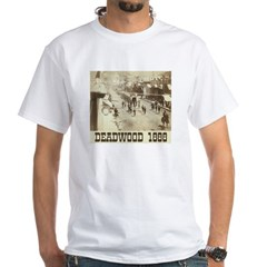 Deadwood Celebration White T-Shirt