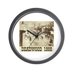 Deadwood Celebration Wall Clock