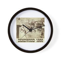Deadwood Celebration Wall Clock