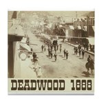 Deadwood Celebration Tile Coaster