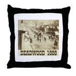 Deadwood Celebration Throw Pillow
