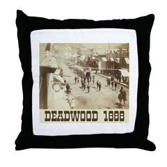 Deadwood Celebration Throw Pillow