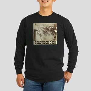 Deadwood Celebration Long Sleeve Dark T-Shirt