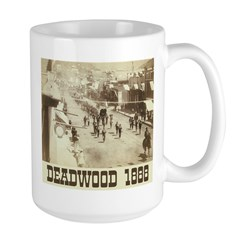 Deadwood Celebration Large Mug