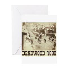 Deadwood Celebration Greeting Card