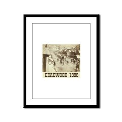 Deadwood Celebration Framed Panel Print