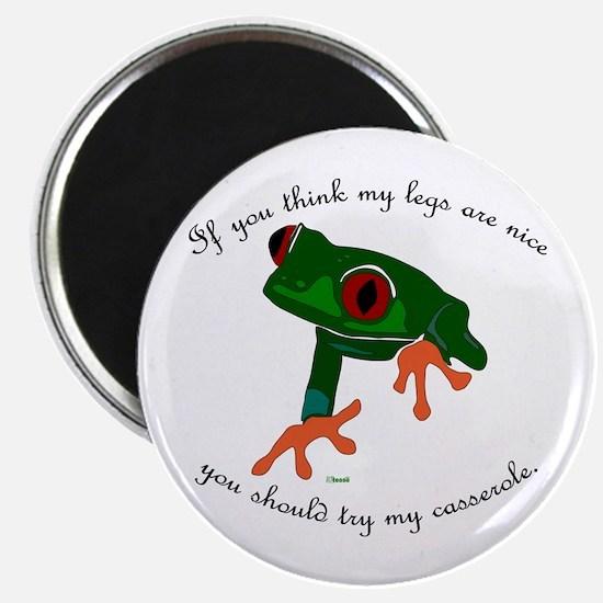 Nice Frog Legs Magnet