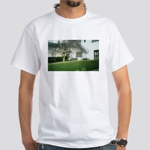 Quiet Village Garden White T-Shirt
