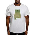Alabama State Cornhole Champi Light T-Shirt