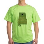 Alabama State Cornhole Champi Green T-Shirt