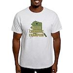 Alaska State Cornhole Champio Light T-Shirt