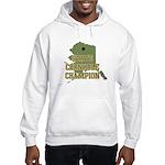Alaska State Cornhole Champio Hooded Sweatshirt