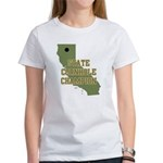 California State Cornhole Cha Women's T-Shirt