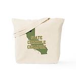 California State Cornhole Cha Tote Bag