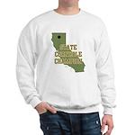 California State Cornhole Cha Sweatshirt