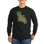 California State Cornhole Cha Long Sleeve Dark T-S