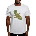 California State Cornhole Cha Light T-Shirt