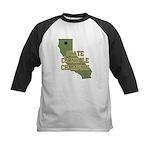 California State Cornhole Cha Kids Baseball Jersey