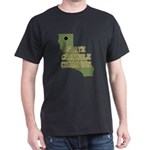 California State Cornhole Cha Dark T-Shirt