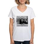 Round Pond Oklahoma Women's V-Neck T-Shirt