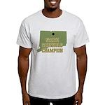 Connecticut State Cornhole Ch Light T-Shirt