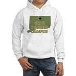 Connecticut State Cornhole Ch Hooded Sweatshirt