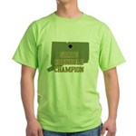 Connecticut State Cornhole Ch Green T-Shirt