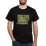 Connecticut State Cornhole Ch Dark T-Shirt