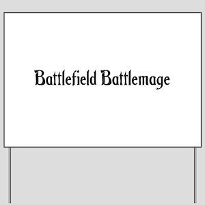 Battlefield Battlemage Yard Sign