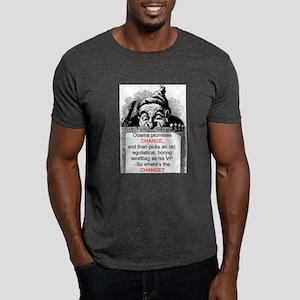 """Change, -What Change?"" Dark T-Shirt"