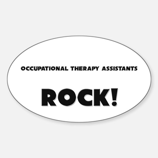 Occupational Therapy Assistants ROCK Decal