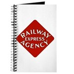 Railway Express Color Logo Journal