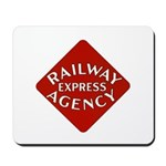 Railway Express Color Logo Mousepad