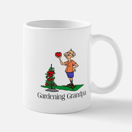 Gardening Grandpa Mug