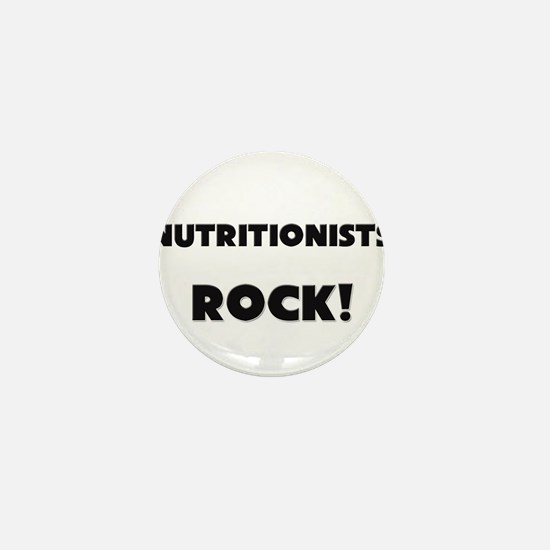 Nutritionists ROCK Mini Button