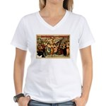 Hotel Jolly Women's V-Neck T-Shirt