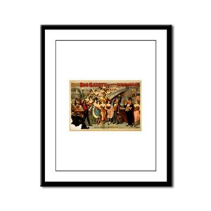 Hotel Jolly Framed Panel Print