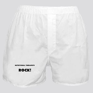 Nutritional Therapists ROCK Boxer Shorts